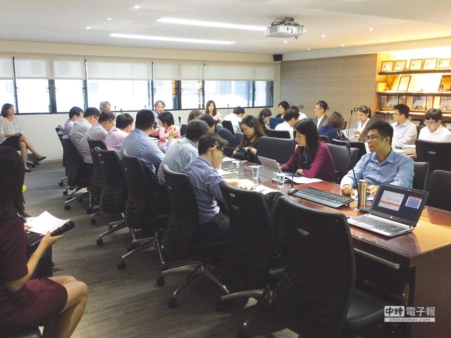 華宇藥興櫃前法說會法人踴躍出席。圖/業者提供
