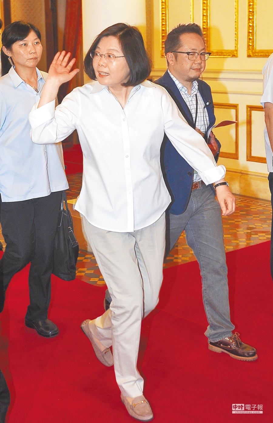 總統蔡英文。(本報系資料照片)