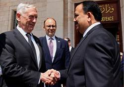 美防長訪伊 稱ISIS跑路中