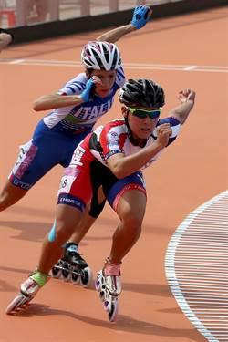 世大運》滑輪溜冰女子500公尺 陳映竹連破世界紀錄晉決賽