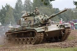 老當益壯的M60巴頓坦克