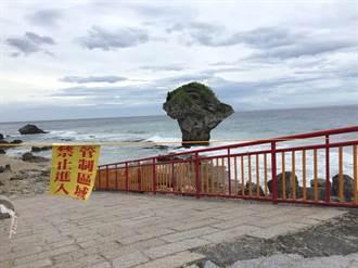 輕颱天鴿過境 小琉球潮間帶獲休養機會