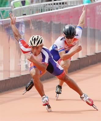 世大運》滑輪500公尺爭先賽宋青陽無緣奪牌