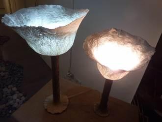 「樹皮布」燈飾  前進巴黎國際家飾用品展