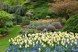 加拿大布查特花園 四季景色都讓人驚艷