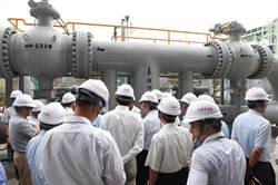 815停電事件 行政調查專案小組到大潭電廠實勘