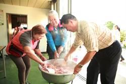 里長牌泡菜、臘肉  樹林圳民里打造五星級共餐饗宴