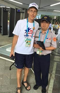 美籍選手遺失護照 員警細心尋獲聯繫領回
