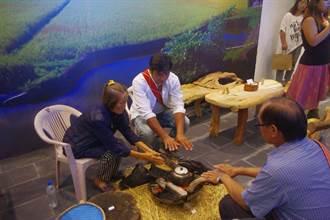 原民素人木器創作展 邀民眾一起烤火