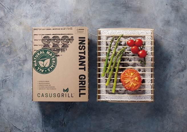 「丹麥工藝環保烤肉架」即日起開放官方網站預購,預購價380元/單件。(圖片提供/ CASUSGRILL)