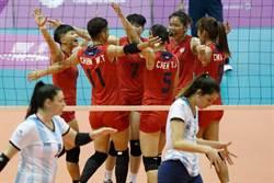 世大運》中華女排痛宰阿根廷 昂首挺進4強