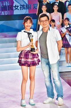 15歲林采婕課業兼顧夢想