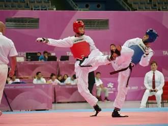 何嘉欣最後3秒被逆轉 中華跆拳奪牌夢碎