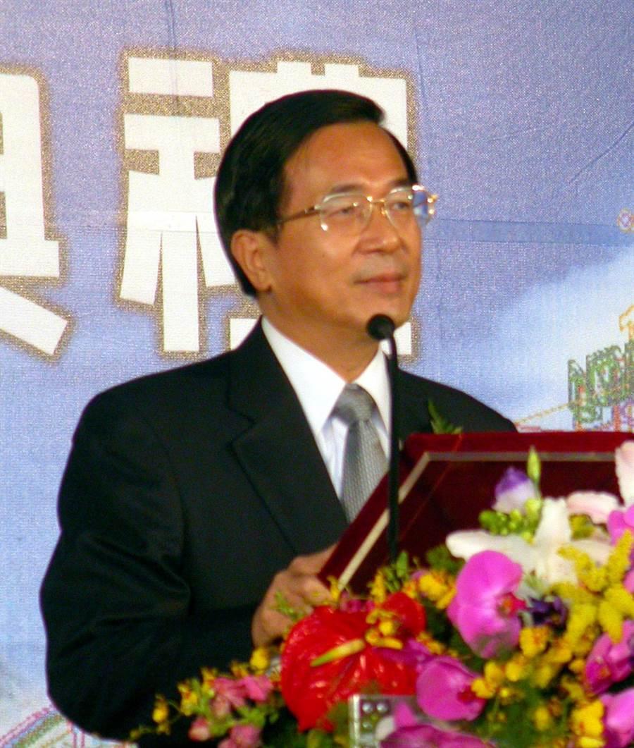 前總統陳水扁檔案照片。(沈揮勝攝)