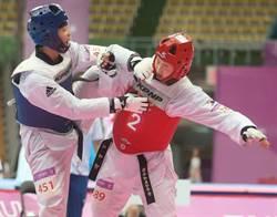 世大運》跆拳道女子團體對打 中華台北2分飲恨