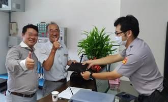 遺失皮夾迅速找回 日籍男:台灣警察、台灣人真讚!