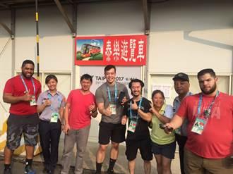 台灣警察服務一級棒  美國舉重隊離台前夕說「讚」
