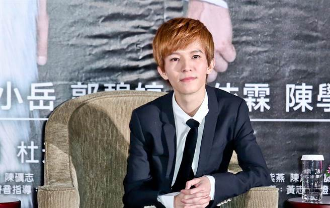 2013年來台宣傳小時代的郭敬明。(羅永銘攝)