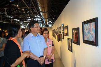 林佳龍參觀漫博會 宣示打造台中成ACG產業中心
