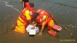 海巡執行守望勤務 順利搶救溺水民眾