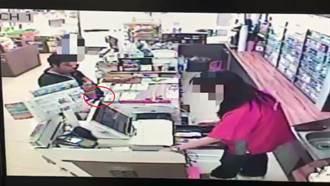 超商搶案 神力女店員奪槍退賊