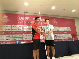 世大運》英雄惜英雄 日本選手贈破紀錄標槍給兆村