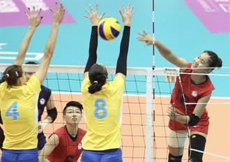 世大運》失誤頻傳 中華女排輸烏克蘭只拿第4