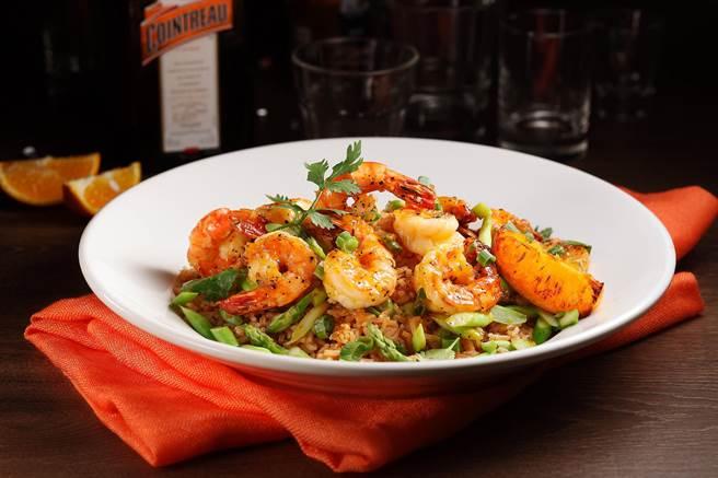 君度橙汁鮮蝦 (Cointreau Chili Shrimp), NT/550 (圖/TGI FRIDAYS)