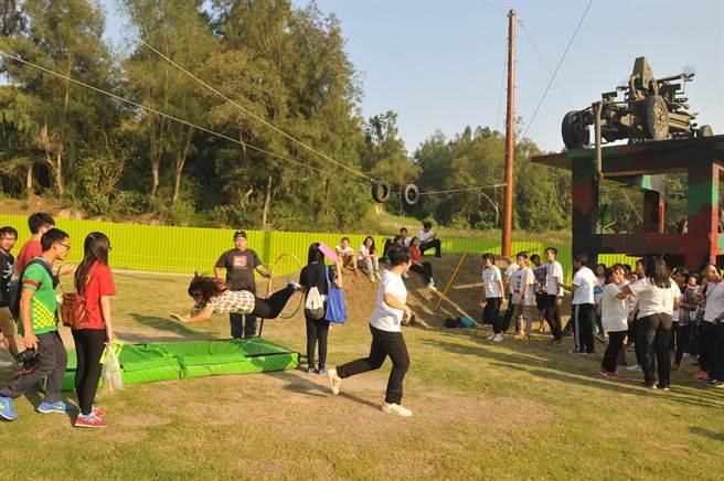 柳營軍事體驗園區開放營運,出現收支嚴重失衡狀況。(本報資料照片/李金生攝)