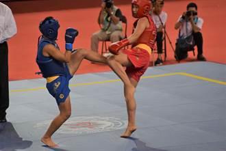 世大運武術》女子散打60公斤決賽 林怡汝「銀」了