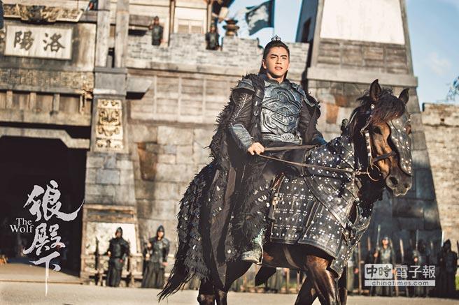 王大陸在《狼殿下》的古裝造型相當霸氣。