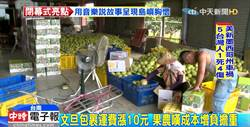 郵局一例一休成本增 運費漲10元果農吃不消