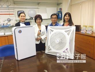 大晶光電 發表先進光觸媒科技