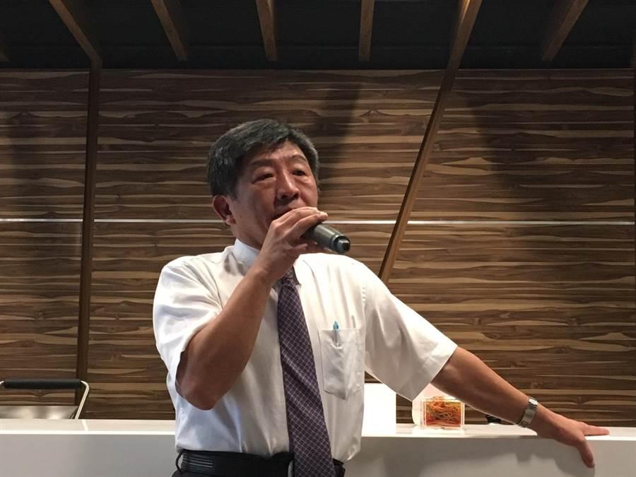 衛福部長陳時中。(資料照,倪浩倫攝)