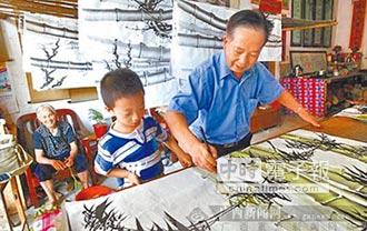 桂林農民畫村 創作熱銷海外
