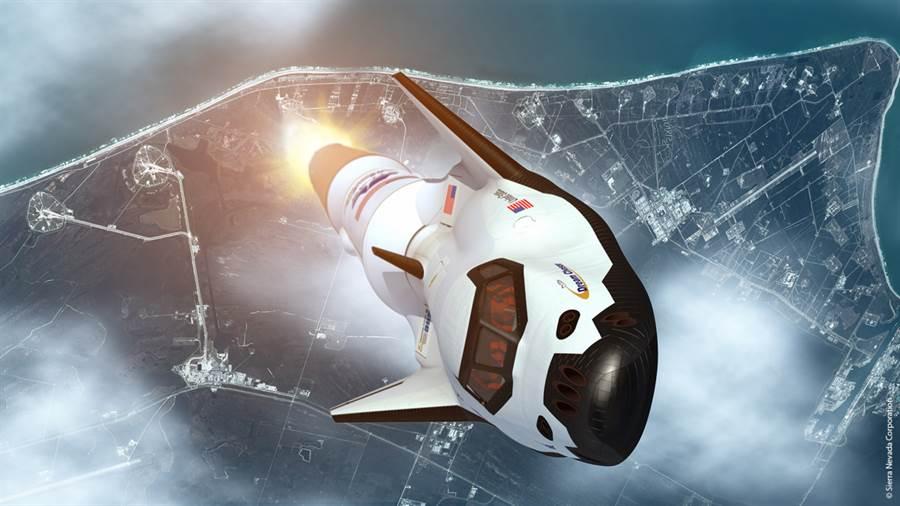 逐夢者是安裝在火箭頂部發射,假如利用可回收火箭,就可使太空任務全部都可重覆使用。(圖/NASA)