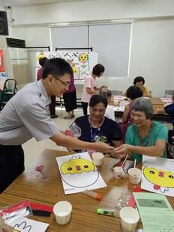 慶中元 中市警捐白米、送平安符護民