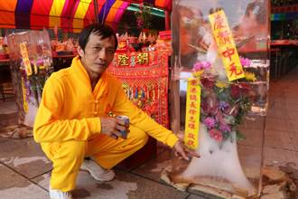 東港廟宇普渡獨有特色 冰花吸睛又消暑