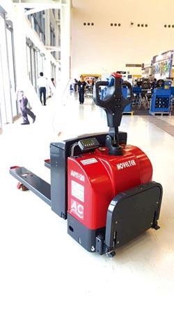 2017台北國際自動化工業大展 恆智 磅秤型電動拖板車亮相