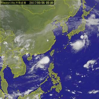 谷超颱風10:30海警 不排除發布陸警