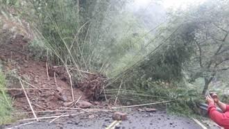 阿里山公路土石滑落封閉 預計晚間7點開放通行