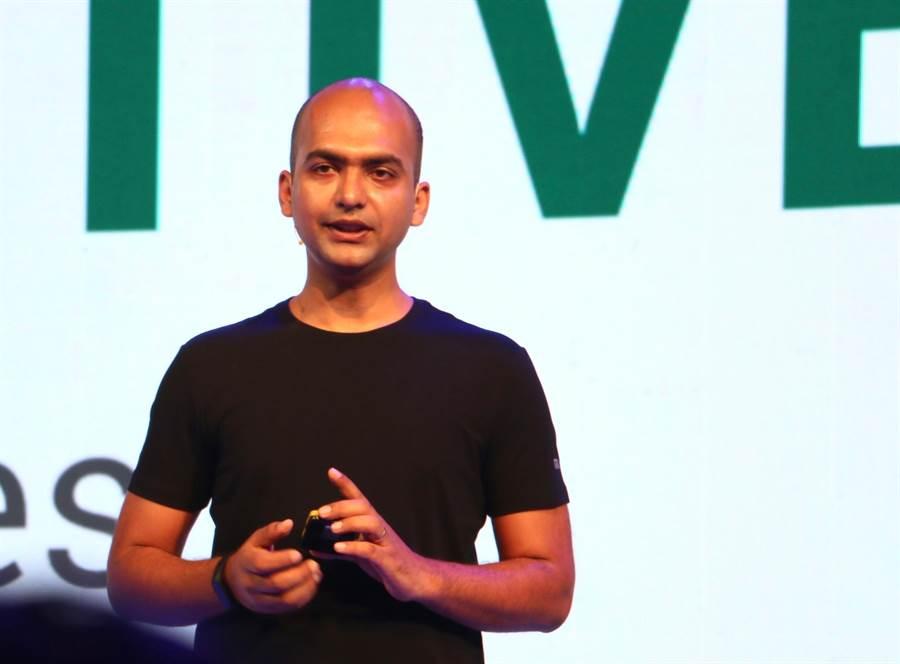 小米國際部副總裁Manu Jain。(圖/黃慧雯攝)