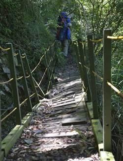 玉山八通關步道西段 9月15日至10月12日因工程暫關閉