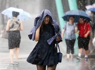 受對流發展旺盛影響 台北降下大雷雨
