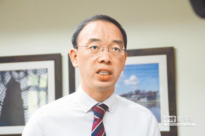 臺灣觀光學院傳出將由「台灣運動彩券公司」入主接手校務經營,校長劉國成表示目前仍在商議階段,並未定案。(張祈攝)