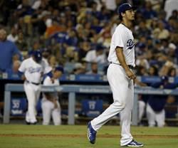 MLB》達比修飆最速千K 道奇還是吞8連敗