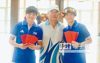 陳晏宇、羅蘋回母校 分享籃球經驗