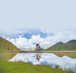 言教不如身教 陸師騎行西藏