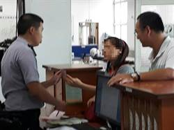 「清水警分局」招牌阻詐 保住婦人168萬元