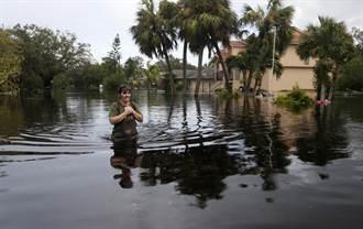 艾瑪減弱為熱帶風暴 佛州580萬戶停電